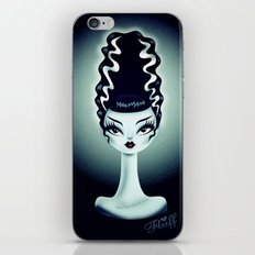 Bride of Fluff iPhone & iPod Skin