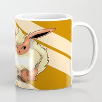 eevee Mugs featuring Playing Around by thegamingmuse