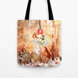 Love gives you Wings Tote Bag
