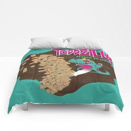 TODDZILLA –ATTACK ON JENGHAI! Comforters