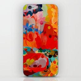 color bubble storm iPhone Skin