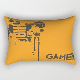 """""""Control"""" Rectangular Pillow"""