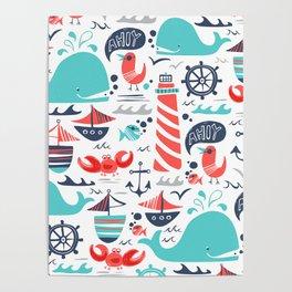 Ahoy Matey Poster