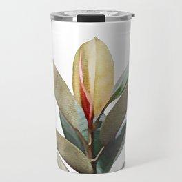 Vintage Foliage Travel Mug