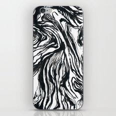 Marbled Black iPhone Skin