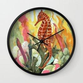 Kona Seahorse Wall Clock