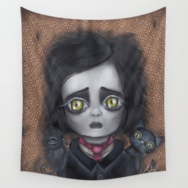 Young Poe Wall Tapestry