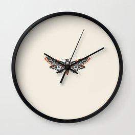 Inktober Day 15 - Death Moth Wall Clock