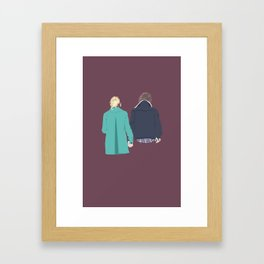 Happily Framed Art Print