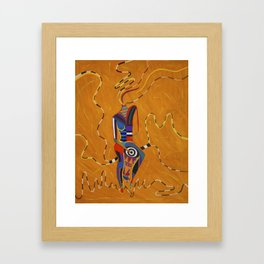 Child of the Earth Framed Art Print