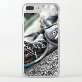 Boot Scoot Clear iPhone Case