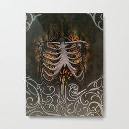a fire inside  Metal Print