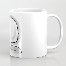 Being Calm #happylala Coffee Mug