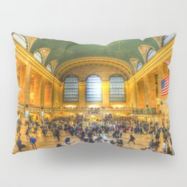 Grand Central Station New York Pillow Sham