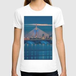 Zakim and Longfellow Bridge T-shirt