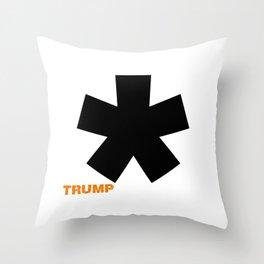 POTUS Trump. Impeached Forever. Throw Pillow