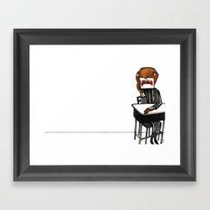 R J B Framed Art Print