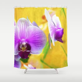 ORCHID ORCHID Shower Curtain