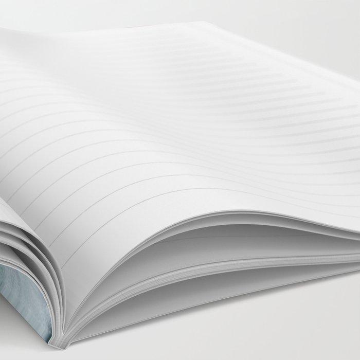 Raspberry Ocean Ink Fluid Notebook