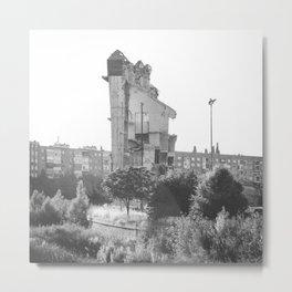 El tapiz de la destrucción. Metal Print