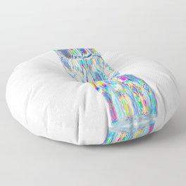 Totem of light Floor Pillow