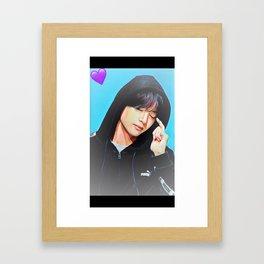 Taehyung Framed Art Print