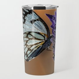 Caper White Butterfly Travel Mug