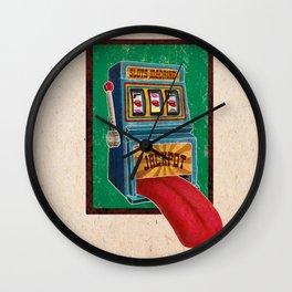 Jackpot Wall Clock