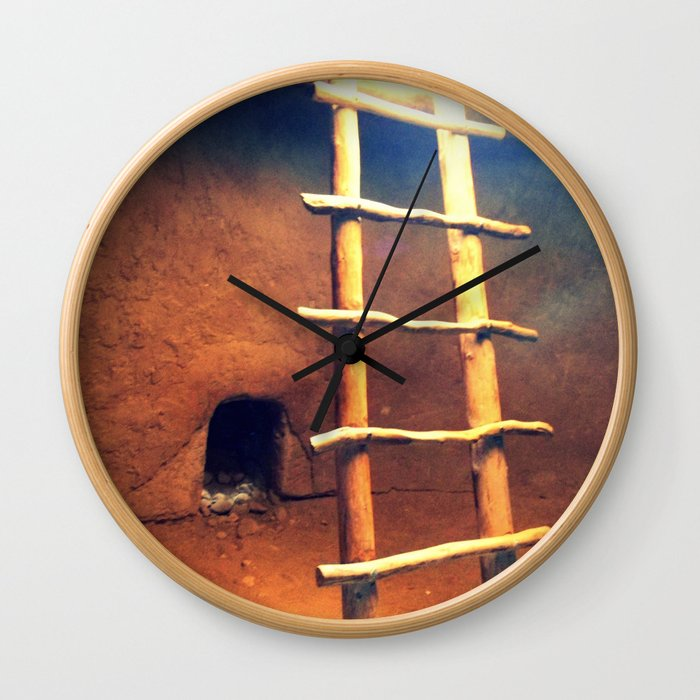 Down in the Kiva Wall Clock