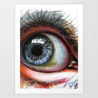 eyeball thang Art Print