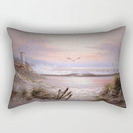 As The Sunsets!! Rectangular Pillow