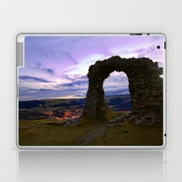 Town on the edge of forever Laptop & iPad Skin