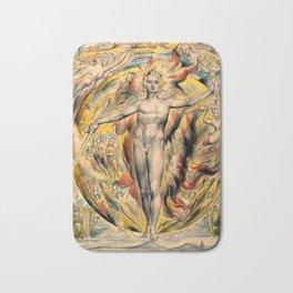 MOSES - WILLIAM BLAKE Bath Mat