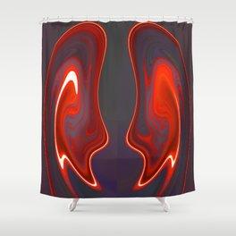 Demonic Instruction Shower Curtain
