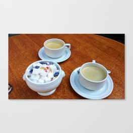 Sugar and Coffee Canvas Print