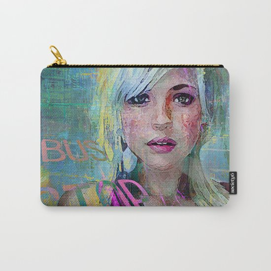 bus stop girl  Carry-All Pouch