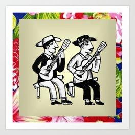 CordelMusic by Chikita Art Print