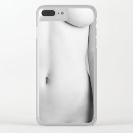 Hot girl Clear iPhone Case