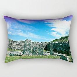 Old Stones Rectangular Pillow