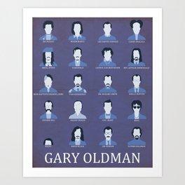Gary Oldman Art Print