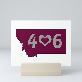 406 : Missoula, Montana Mini Art Print