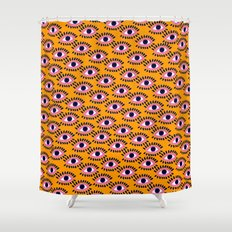 Colorful Eyes IV. Shower Curtain