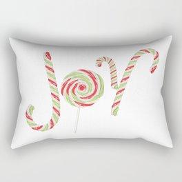 Candy joy word Rectangular Pillow