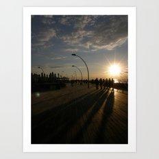 Tel Aviv Port #1 Art Print