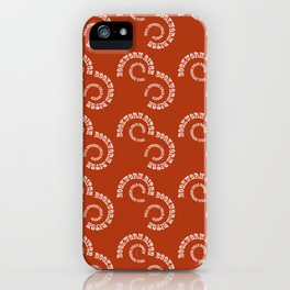 Bookworm Bitch iPhone Case