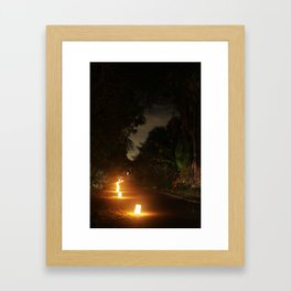 Luminaries Framed Art Print