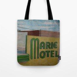 Panama City Marie Motel Tote Bag