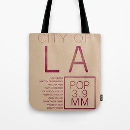 The City of Angels Tote Bag