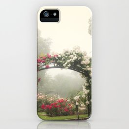 Blooms In Fog III iPhone Case