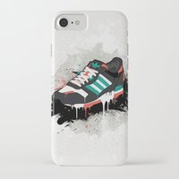 sneaker iPhone & iPod Cases featuring Sneaker by Nicu Balan